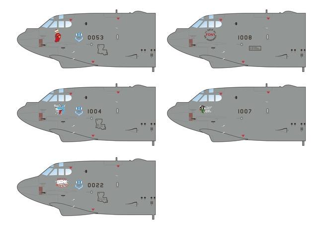 B-52G STRATOFORTRESS  PROFILE PRINT.